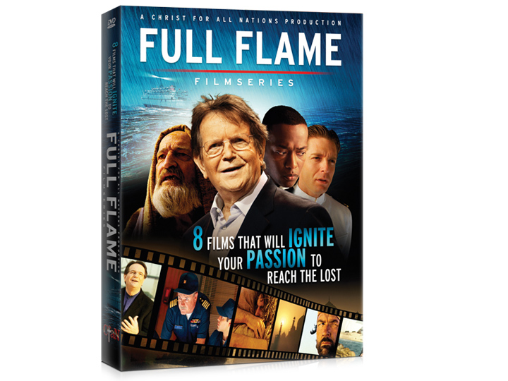 Préférence Christ for all Nations - Full Flame Film Series (4 DVD's) TH84